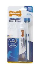 Nylabone Advanced Oral Care Triple Action | Dental Kit For Adult Dogs