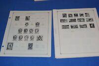 Liechtenstein 45 Scott International Stamp Album Pages to 1990 BlueLakeStamps