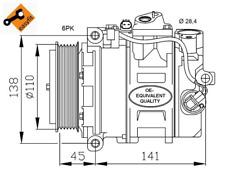 Kompressor Klimaanlage - NRF 32214