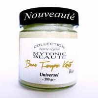 Beurre créme Fenugrec bio pour grossir fesses hanche poitrine, cheveux, acné