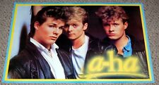 A-HA Group Pose Poster 1980's Canada First Productions Morten Harket Mags