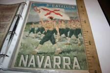 4 3º BATALLÓN DE NAVARRA CUPONES DE RACIONAMIENTO, PAMPLONA  1940