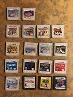Bundle Lot of 18 Nintendo   15 3DS Games + 3 DS Games Mario, Magical World etc