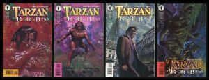 Tarzan Rivers of Blood Set 1-2-3-4 Lot Igor Kordey art Burroughs Lord of Jungle