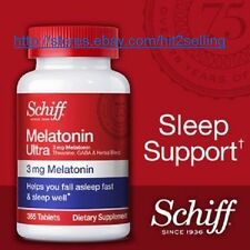 Schiff Melatonin Ultra (365 Tab.) Sleep Support 3mg Melatonin, Exp. Date 07/2018