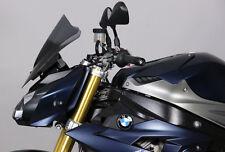 """MRA Racingscheibe BMW S1000 R S1000R  """"R"""" - Baujahr 2014- rauchgrau"""