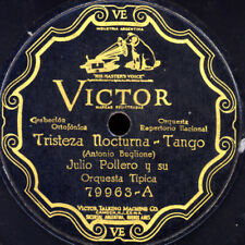 J. NOCTURNA & O.TIPICA -TANGO ARGENTINO- Tristeza Nocturna Schellackplatte S3070