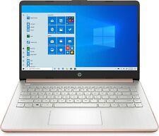 HP 14 Series 14 Laptop Intel Celeron N4020 4GB Ram 64GB eMMC pálido Ouro Rosé-I