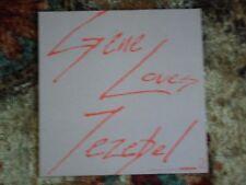 """GENE LOVES JEZEBEL """"The Motion Of Love"""" US Promo Only Album Flat (Poster)"""
