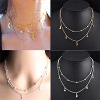 Women Charm Jewelry Pendant Fashion Chain Choker Chunky Bib Statement Necklace