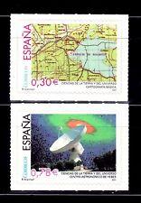 ESPAÑA 2007 4314/15 Cartografía/ Radiotelescopio