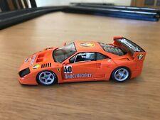 Ferrari F40 Slot Car FLY SLOT Jägermeister - Scalextric - Sin Motor NUEVO
