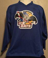 Vintage Contak Mens Sz XL Austin Ice Bats Hockey Jersey Multiple Autographs RARE