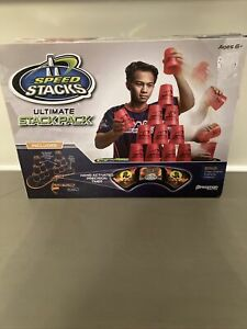 speed stacks ultimate pack mat set lot box timer wssa blue cup stacking