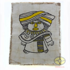 Chinese Folk Art Handmade Wall Hanging Batik Tapestry - The Bouyei Minority Boy