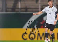 JULIAN WEIGL DFB WM 2018 Dortmund Foto 13x18 signiert IN PERSON Autogramm