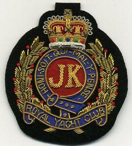 Ihr ROYAL YACHT CLUB Magnetabzeichen mit persönl. Initialen MAGNETIC badge