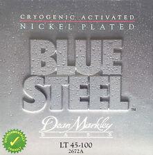 Dean Markley 2672A Blue Steel Nickel Plated BASS Guitar Strings 45-100 LT