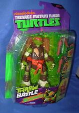 MICHELANGELO THROW N BATTLE Nickelodeon TMNT Teenage Mutant Ninja Turtles