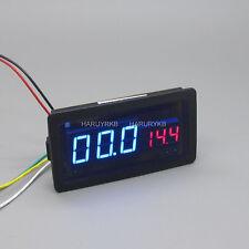 100V 50A DC Digital LED Amp Volt Combo Meter w/Shunt f/ 12v 24v HHO EV car Solar