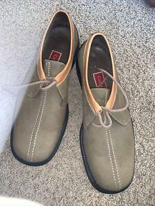 Cole Haan Men's Air Santa Fe Lace Up Shoes Suede Leather C03516 4817304 Sz 10.5M