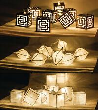 HQ LED iluminación ambiental Artesanal Cadena Decoración Festivo Cuerda Con Pilas