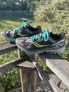 Saucony XODUS 5.0 Women's Running Shoes Gray Green S10250-1 Sz 9.5