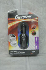 Brand New Energizer ENG-CLA002 Cell Phone Car Charger w/ Illuminated Tip