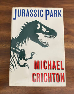 Jurassic Park by Michael Crichton (1990, Hardcover) BCE - FREE SHIPPING