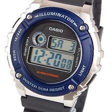 Original Nuevo Casio W-216H-2 Reloj para Hombres Niños Digital Cronómetro  Alarma 50M WR W-216 2dd87c3d214b