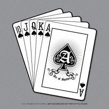 Playing Cards Pegatina Calcomanía Laptop PC iPad Patineta teléfono Poker-SKU2910