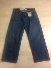 Levi's Boys Blue Jean Pants Sz 8 Husky (28x23) 550 Relaxed Fit Palmer NEW