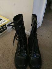 Womens Xhilaration  Lace-up  Boots w/ heel Sz 5.5  096111644