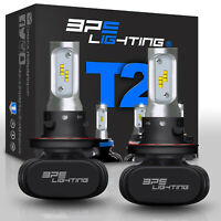 BPS Lighting T2 Series H13/9008 LED Headlight Bulbs Conversion Kit 8000LM 50W