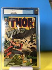 Thor # 132 CGC 9.4 1st Cameo Of Ego, Kirby, Lee Marvel, 1966