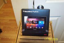 BlackBerry PlayBooks 16GB, Wi-Fi, 7 inch - Black (Lot of 2 1 New 1 Open Box)