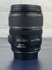 Canon Zoom Lens EF-S 17-85mm 1:4-5.6 IS USM Ultrasonic EOS Near New Excellent