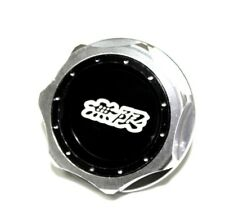 JDM MUGEN EMBLEM BRUSHED BLACK ENGINE OIL FILLER CAP BADGE FOR HONDA ACURA