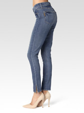 NEW PAIGE HOXTON HIGH WAIST VINTAGE ANKLE PEG SKINNY JEANS - SIZE 24