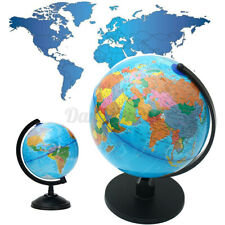 Education Rotating World Globe Earth Country Geography Desktop Home Office