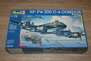 Revell 04678 Focke Wulf Fw 200 C-4 Condor Bomber 1:72 NEU mit OVP