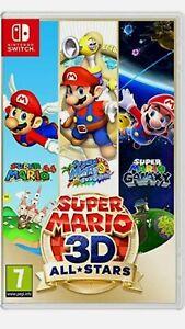NINTINDO SWITCH Super Mario 3D All Stars NEW SEALED