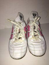 Ludas Temparo/Mitre-Control The Game-Size 7.5 Us Women's White/Pink Soccer Shoes