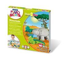 FIMO Kits for Kids Form & Play Polymère Modelage four cuisson argile-Set Waterhole