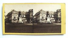 PHOTO STÉRÉOSCOPIQUE STEREOVIEW / PARIS PLACE DES VICTOIRES