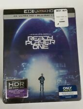 Ready Player One 4K Ultra HD HDR Blu-Ray Collectible Steelbook NEW