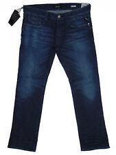 Replay LASER NEWBILL Straight Leg  W34 L32 Mens Blue Denim Jeans