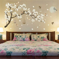 76| Stickers muraux-décor maison-motif autocollants-Art-décor Mur-Arbre-oiseaux