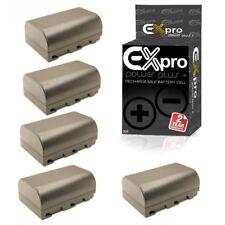 Ex-Pro DMW-BLF19E X 5 2200mAh Batería Para Panasonic DMC-GH3 DMC-GH4 DMC-GH5.