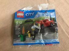 LEGO - CITY Fire Car - 30347  -  POLYBAG - VERY RARE !!!